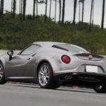 アルファロメオ4C専用車検対応マフラーリリース予定