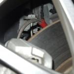 TEZZOデモカー「フィアット TEZZO 500X」にステンメッシュブレーキホースを装着しています