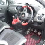 デモカーアバルト TEZZO 595 LXYにバレルンガ装着