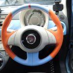 【販売開始】バレルンガ by TEZZO 本革巻き ステアリングシリーズ for フィアット500 『ミサノ ディンプル ディンプル 500シリーズ3 』