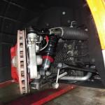 アルファロメオTEZZO4Cに車高調(試作)装着、22日にテスト走行予定!