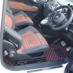 【TEZZO BASE RACE&SERVICEからのお知らせ】TEZZO BASE推奨ローポジションキット for アバルト500/595/695 sabeltシート発売