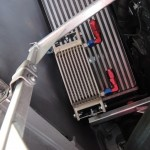 アルファロメオ TEZZO 4C RT1 ミッションオイルクーラーを開発中