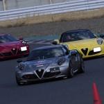 TEZZO WORLDにアルファロメオ4Cクラブジャパンのメンバーを対象としたドライビングレッスンの記事をアップ