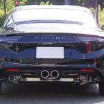 【速報】アルピーヌA110 lxy スポーツマフラー by TEZZO 加速騒音試験に合格