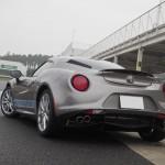 【新商品】TEZZO トランクスポイラー for Alfa Romeo 4C